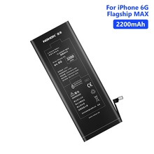 NOHON 2200mAh High Quality Lithium Phone Battery For iPhone 6 6G iPhone6 Replacement Bateria Batteries Free Tools