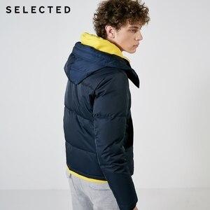 Image 3 - اختيار جديد سترة شتوية الرجال الجلد المدبوغ الرقبة سترة عادية قصيرة أسفل معطف الملابس S