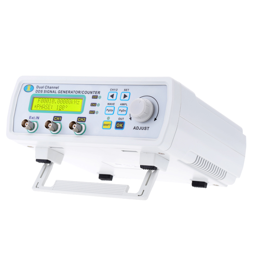 Mini DDS Function Signal Source Generator Digital Signal Generator Dual-channel Arbitrary Waveform Frequency Meter200MSa/s 25MHz free shipping mhs 3206a dual channel nc function dds signal generator counter dds signal source frequency meter 6mhz