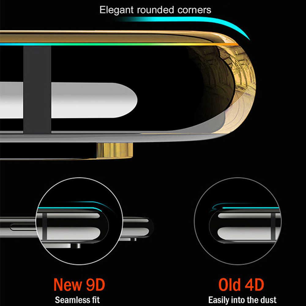 9D กระจกนิรภัยสำหรับ Xiao Mi สีแดง Mi หมายเหตุ 6 Pro Xio Mi Mi A2 Lite บน pocophone F1 5 Plus 6A 8 Lite MAX 3 S2