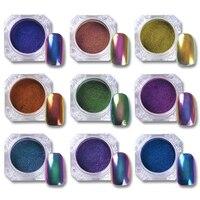 1g Top Grade Chameleon Powder Nail Glitter Powder Nail Polish UV Gel Chrome Pigment Nail Art