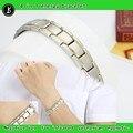 Moda jóias inoxidável de Energia pulseira de Energia do Poder pulseira magnética saúde Germânio pulseiras DHL frete grátis