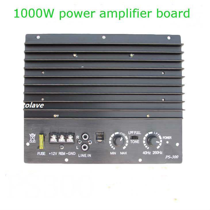 скутер большой мощности - 12V 1000W  big power car audio power amplifier scooter 10-inch subwoofer mainboard