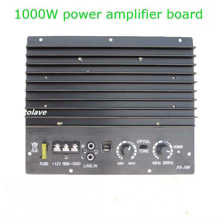 12V 1000W big power car audio power font b amplifier b font scooter 10 inch font