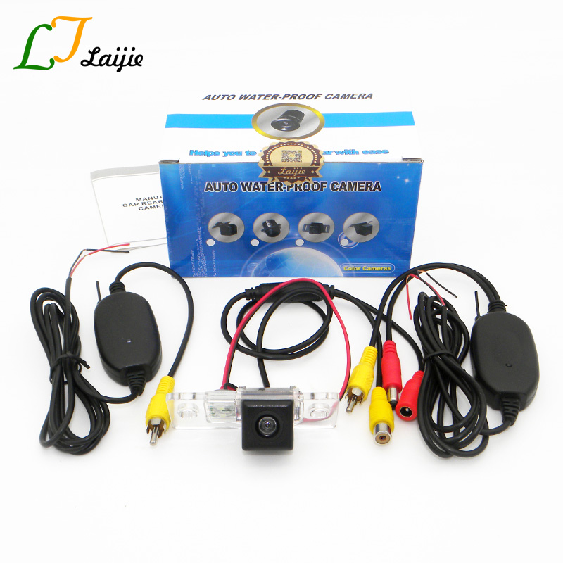 Laijie Wireless Car Rearview Camera For Volkswagen VW Touran Golf Touran 2003 2010 HD CCD Night