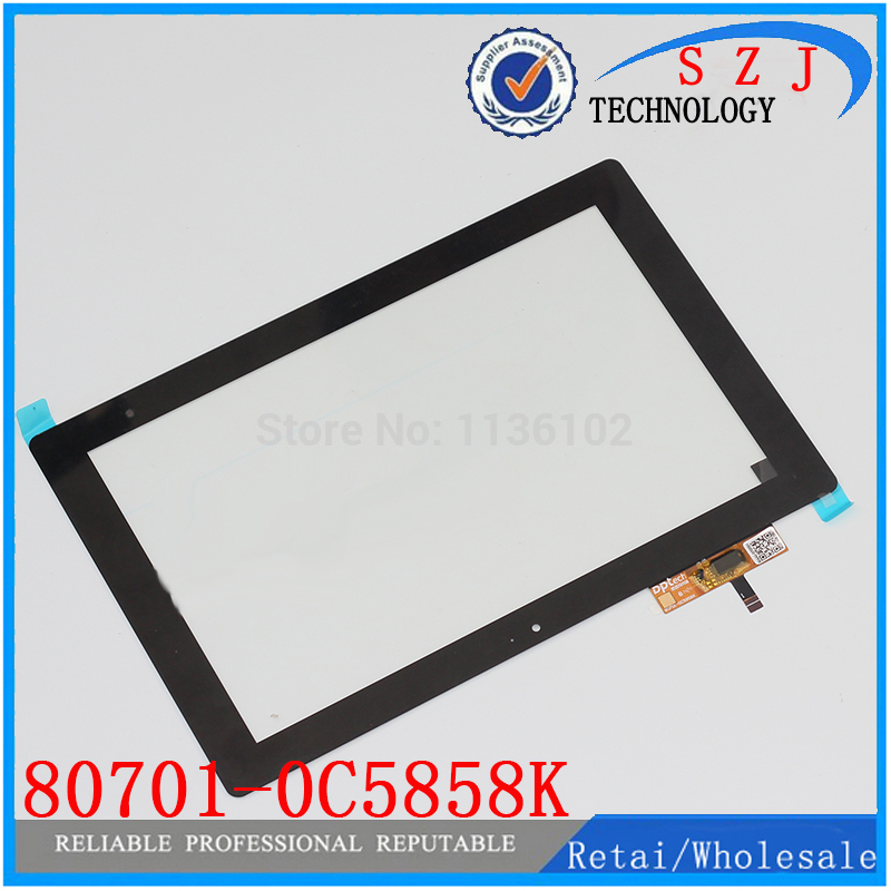 New 10.1 inch case Tablet PC touch screen panel digitizer 80701-0A5858K 80701-0C5858K Free shipping black new 7 inch tablet capacitive touch screen replacement for 80701 0c5705a digitizer external screen sensor free shipping