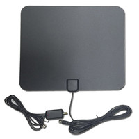 High Definition TV Amplified Digital Indoor Antenna Power High Definition TV 50 Miles Range ATSC UHF