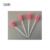 TDOU100Pcs de Rosa Descartável Esponja Swab para Limpeza Oral Clínica Uso frete grátis