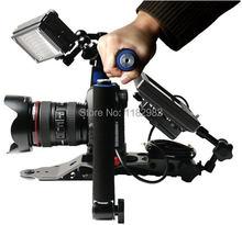 Новый DSLR Складная Рог фильм Комплект Плечевой камкордер паук устойчивый рог для Canon 6D 5diii 80D Nikon D7100 sony DSLR Цифровые зеркальные Камера