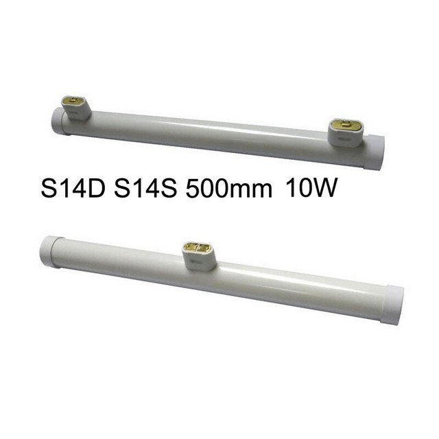Kitchen Direct Island Bar Table 50pcs Lot 10w 500mm S14d S14s Led Linestra Tube Lamp For Replace 100w Osram Ac85 265v