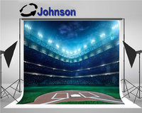 football field soccer celebration world light background Vinyl cloth High quality Computer print party backdrops