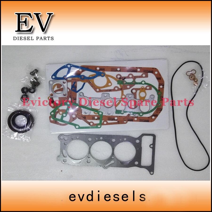 Fpr hiatch mini excavator  3KR1 full cylinder head gasket kit kit kits kit d kit cylinder - title=