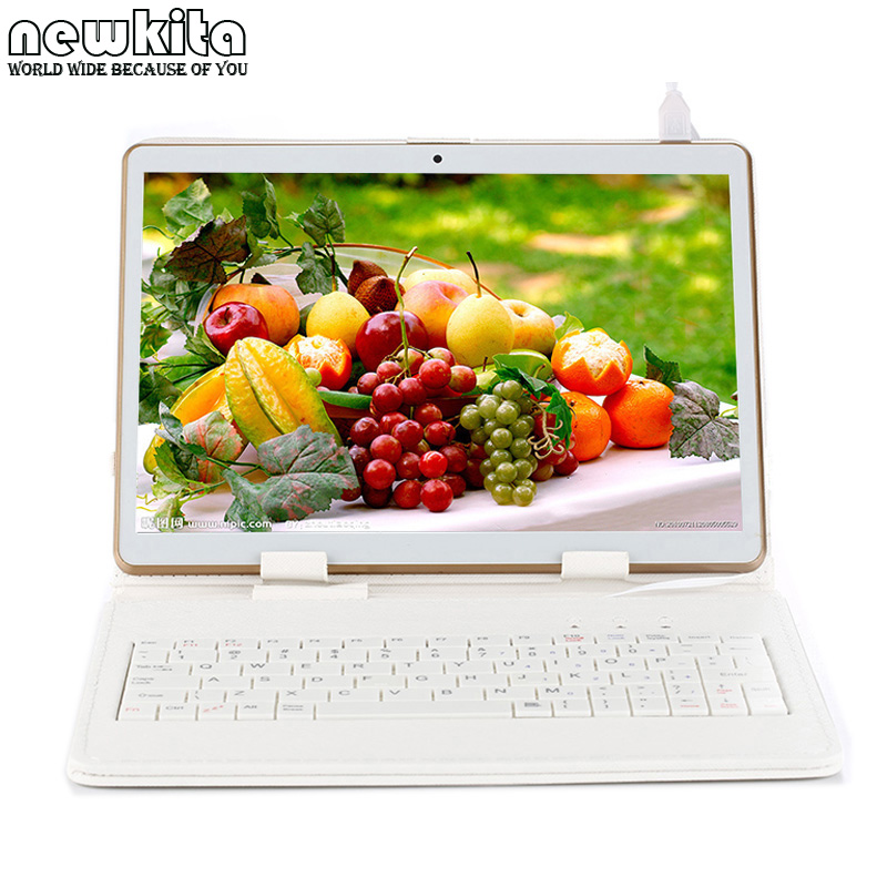9.6 Octa Core 3G Tablet 1280*800 IPS Android 5.1 Dual SIM Phablet 32GB Bluetooth GPS WIFI Tablet PC 10.1 add Keyboard Case