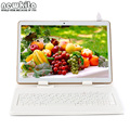 "9.6 ""Octa Núcleo 3G Tablet 1280*800 IPS Android 5.1 Dual SIM Phablet 32 GB Bluetooth GPS WIFI Tablet PC 10.1 add Teclado caso"