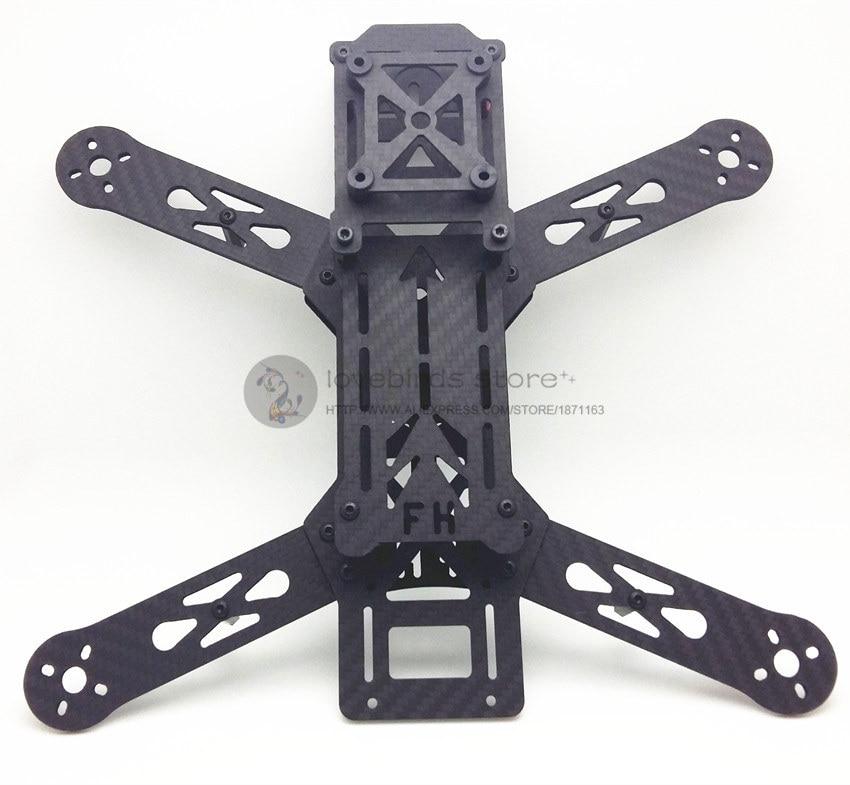FH280 quadcopter pure carbon fiber frame nighthawk 250 pro 2.0 version PDB center board for DIY FPV racing mini drone