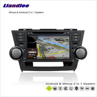 Liandlee Car Android Multimedia Stereo For Toyota Highlander / Kluger 2007~2013 Radio CD DVD Player GPS Navigation Audio Video