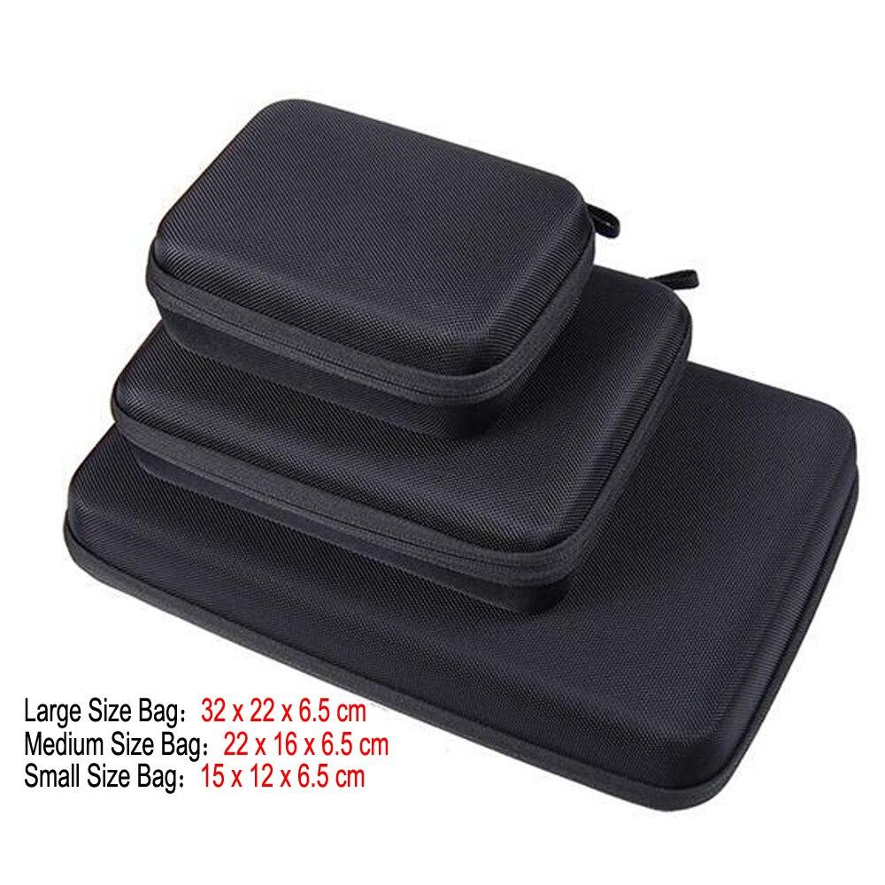 Портативный чехол для переноски, маленький, среднего и большого размера, аксессуар, Противоударная сумка для хранения для экшн-камеры Hero 3/4 SJCAM M20 SJ6 SJ7