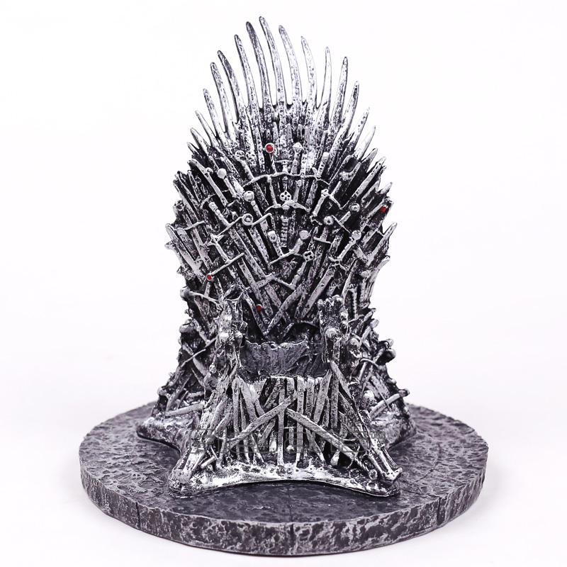Iron Throne Statue PVC Figure Collectible Model Movie & TV Toy Gift 16cm new hot christmas gift 21inch 52cm bearbrick be rbrick fashion toy pvc action figure collectible model toy decoration