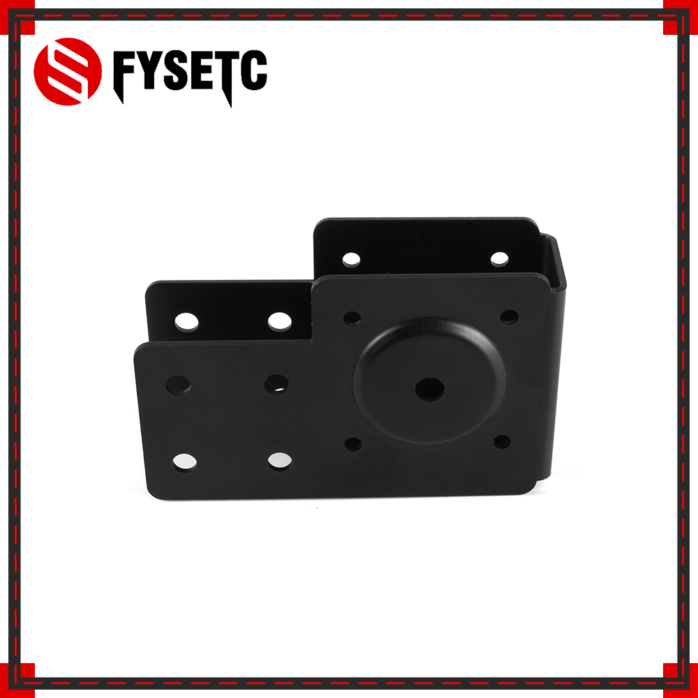 <font><b>V</b></font>-<font><b>Slot</b></font> Linear Actuator End Mount Plate Nema17 Motor Mounting Plate <font><b>2040</b></font> <font><b>V</b></font>-<font><b>Slot</b></font> Anodized Bracket Mount For CNC 3D Printer Parts image