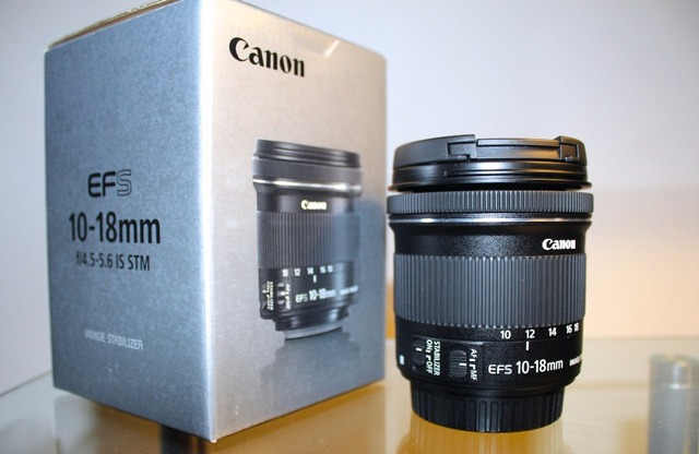 a09bb7ab6e3f1 Canon EF S 10 18mm f 4.5 5.6 IS STM gran angular Zoom para 650D 700D ...