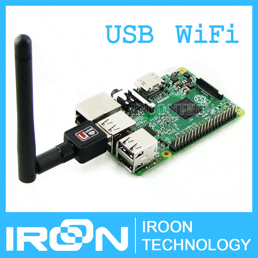Mini 150M Raspberry PI 2 WiFi USB Adapter Dongle with