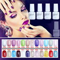 NO.145-168 5ML MINI PACK  2016 Brand New Gelpolish Soak Off UV Gel Polish BASE TOP COAT Primer  Nail Art Color Foundation D10
