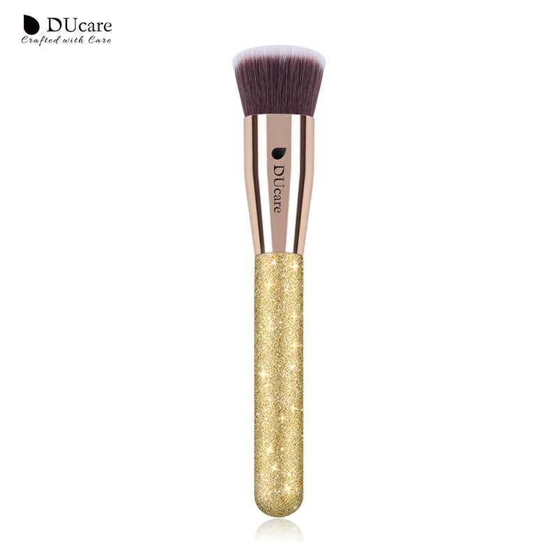 DUcare 1PCS Foundation Brush Flat Top Buffing Foundation Brushes High Quality Professional Makeup Brushes цена 2017
