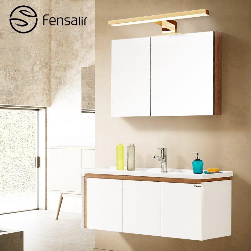 Fensalir Ac110v 220v Wall Light Lampara De Pared Simple Fashion 5w Led Indoor Wall Lamp Led Long 30cm Mirror Light Ml002 300p