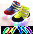 2017 new fashion cool baby boots LED lighted cool baby girls boys shoes hot sales prince noble kids baby sneakers