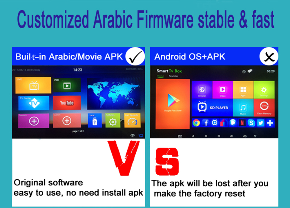 Details about 2018 HD Arabic TV Box Android IPTV Support 1300+channels,Live  TV +Sports channel