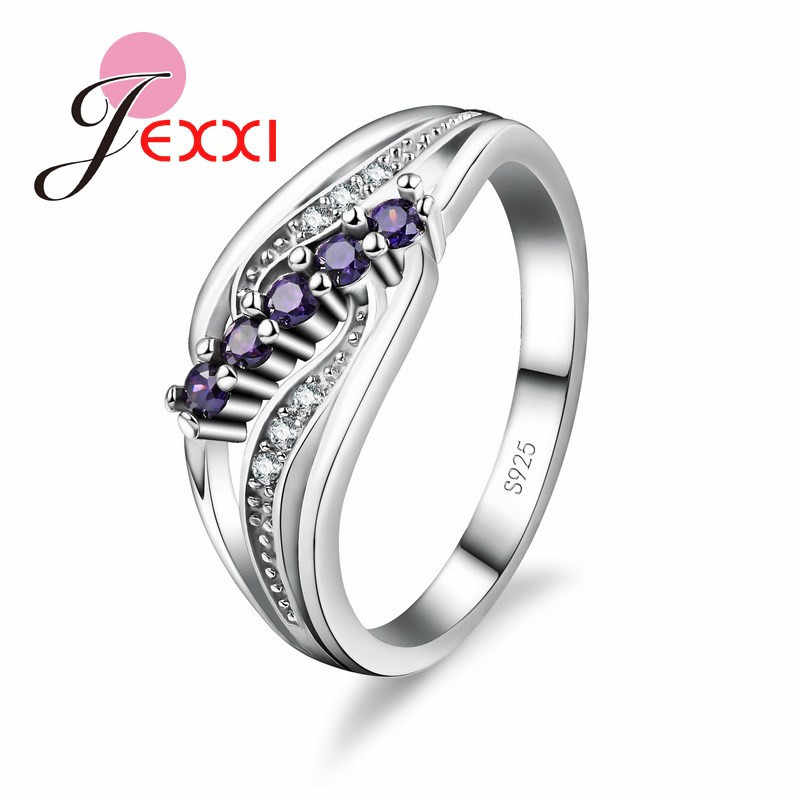 YAAMELI China Pure 925 Sterling Silver Ring Luxury CZ Wedding Rings for  Women Bridal Different Sizes CZ Rings With Lower Price