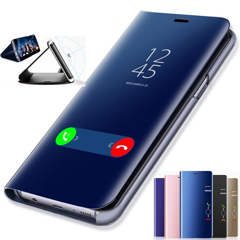Specular Smart Flip Case For Huawei P30 Mate30 Pro Lite Mate 20 10 Lite P20 Litei P9 Plus
