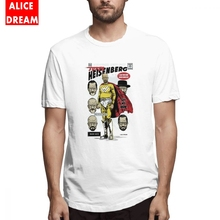 La casa de papel t shirt Super Heisenberg T-shirt Camiseta Cotton S-6XL Breaking bad money heist