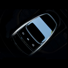 For Mercedes Benz C E S GLC GLE Class 3pcs PVC Center Console Mouse Touch Protective Film Scratch Resistant Sticker