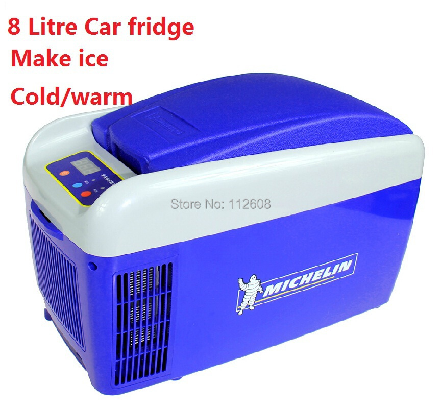 Online Shop Free shipping 8 litre mini fridge with make ice function cool  and warm 12v portable refrigerator   Aliexpress Mobile. Online Shop Free shipping 8 litre mini fridge with make ice