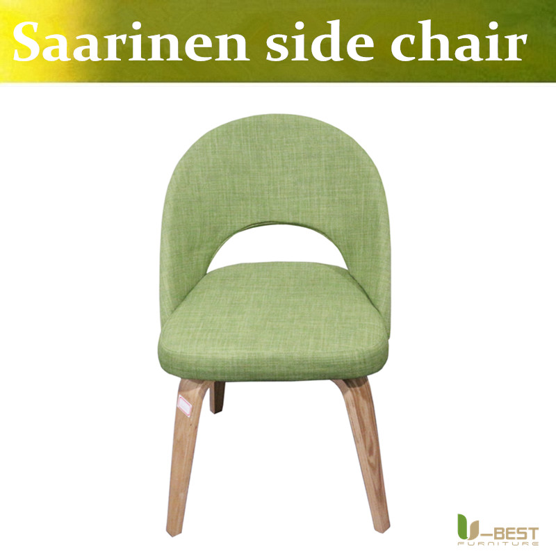 Free shipping U-BEST wholesale high quality Replica Furniture Eero Saarinen Executive Side Chair u best high quality reproduction basculant chair lc1 chair famous classic replica furniture