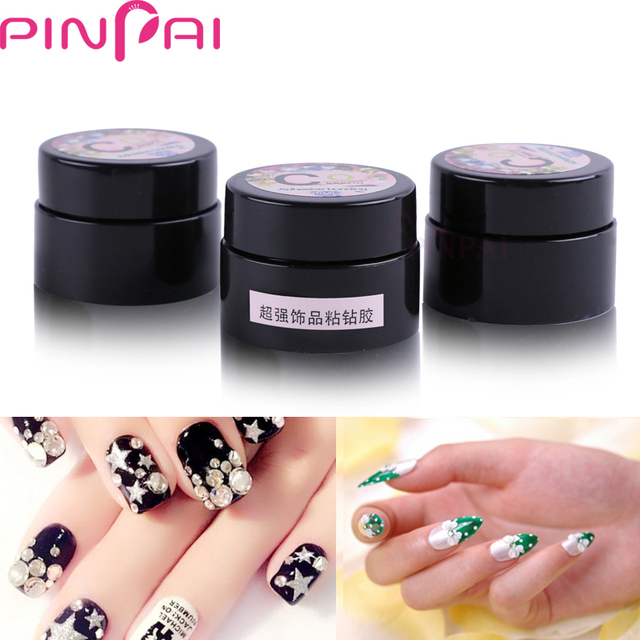 PinPai Nail Art Rhinestone Glue Nail Tips Decoration Jewelry ...