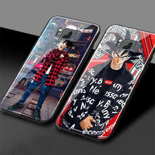 Dragon Ball Tempered Glass Phone Case For Samsung galaxy s8 s9 plus note 8 note 9