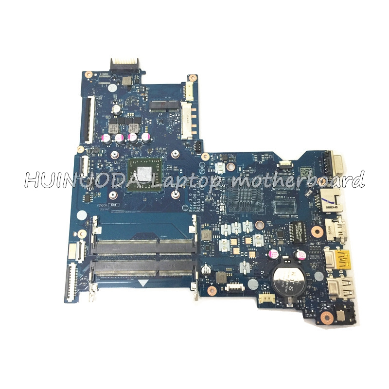 NOKOTION Laptop Motherboard for HP 255 G5 BDL51 LA-D711P 858589-601 1.8Ghz CPU E2-7110 A00172 Mainboard full test