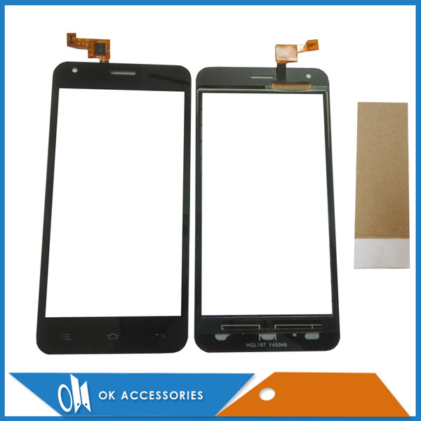 For Ark s451 Touch Screen Sensor Panel Lens Front Glass Replacement Touchscreen Black Color With Tape Tools 1PC/Lot .