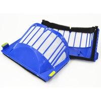 Replenishment Kit Filter Side Brush Bristle Flexible Beater Brush For IRobot Roomba 600 Series 610 620