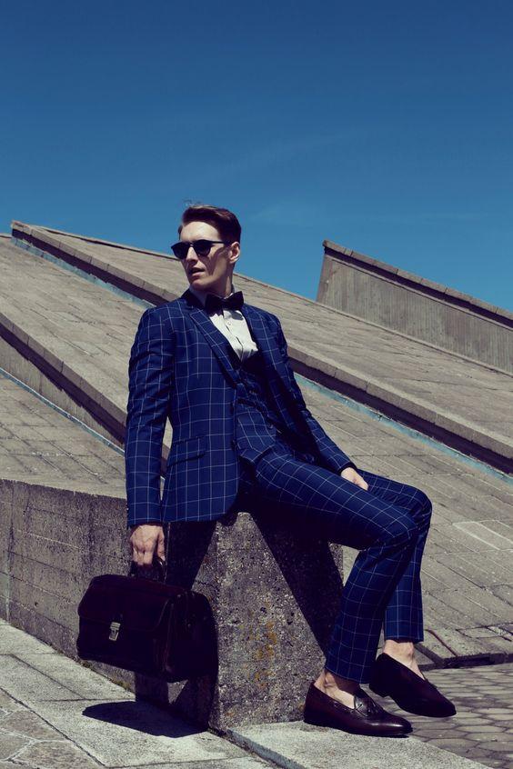 Latest Coat Pant Designs Royal Blue Suits Men Formal Pattern Prom Tuxedo Gentle Dinner Fashion Custom Jacket 3 Piece Terno GF4