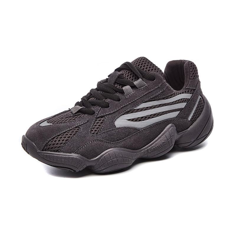 2019 OUYILU femmes chaussures de course femmes baskets en plein air jogging confortable respirant chaussures de marche en cuir véritable baskets 700