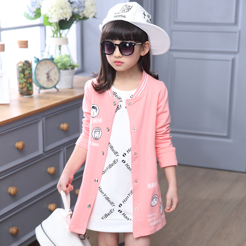 594e61c0ef29 British children s wear coat girls spring and autumn outfit tops ...