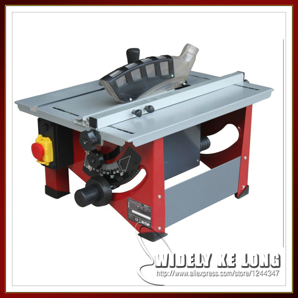 Miniature 8 Inch Table Saw Woodworking Table Saws Adjustable Height