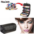 2016 Multifunctional Portable Women Makeup Bag Storage Organizer Box Beauty Case Travel Pouch roll n go Comestic Bags