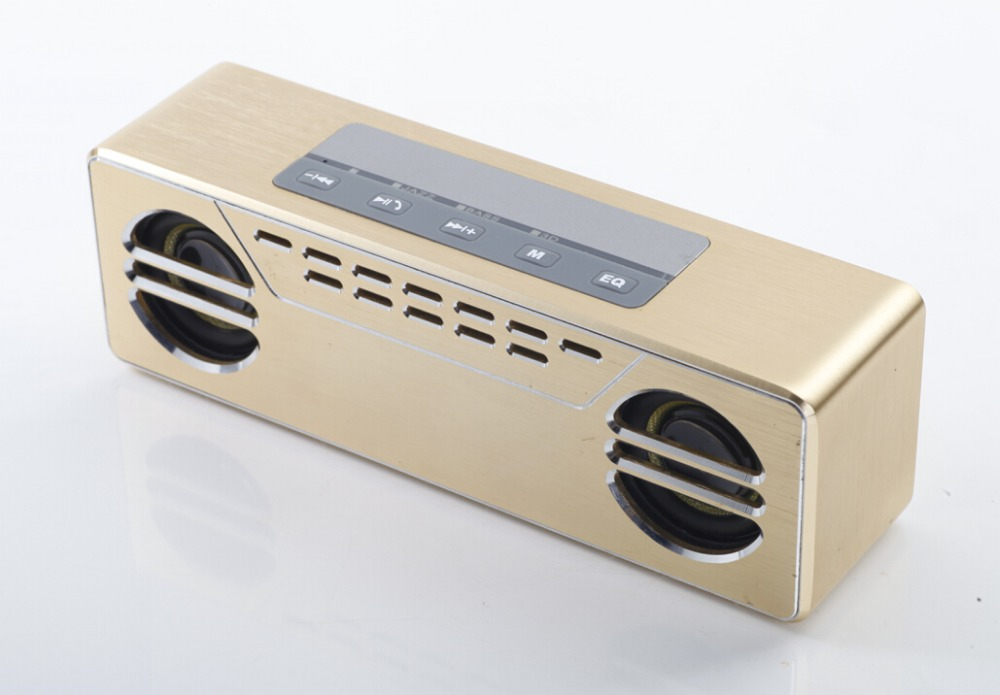 My vision  Portable Super Bass Mini Audio Bluetooth Speaker Luxury Fashion Speakers Metal Loudspeaker  as Gift For Notebook Cars овальный купить ковры ковер super vision 5412 bone овал 3на 5 метров