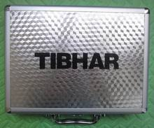 Original Tibhar high quality table tennis case aluminum alloy suitcase table tennis racket and table tennis ball racquet sports