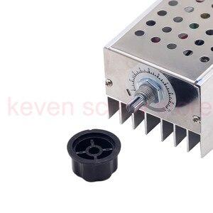 Image 4 - Высокомощный электронный регулятор напряжения SCR BTA10, 10000 Вт, контроллер скорости, электронный диммер