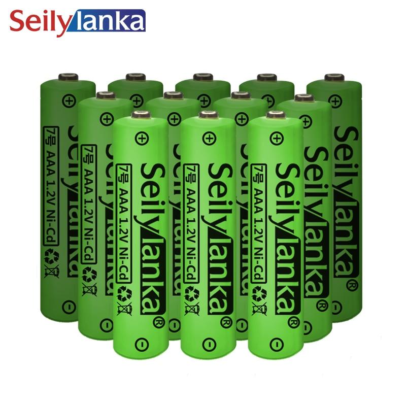 1.2V AAA batterie Rechargeable Ni CD torche LED jouets RC NH chargeur de cellules haute capacité 3/6/12/24 pièces